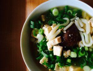 Konjaknudeln suppe udon Konjak Udon-Nudeln Konjaknudel suppe udon