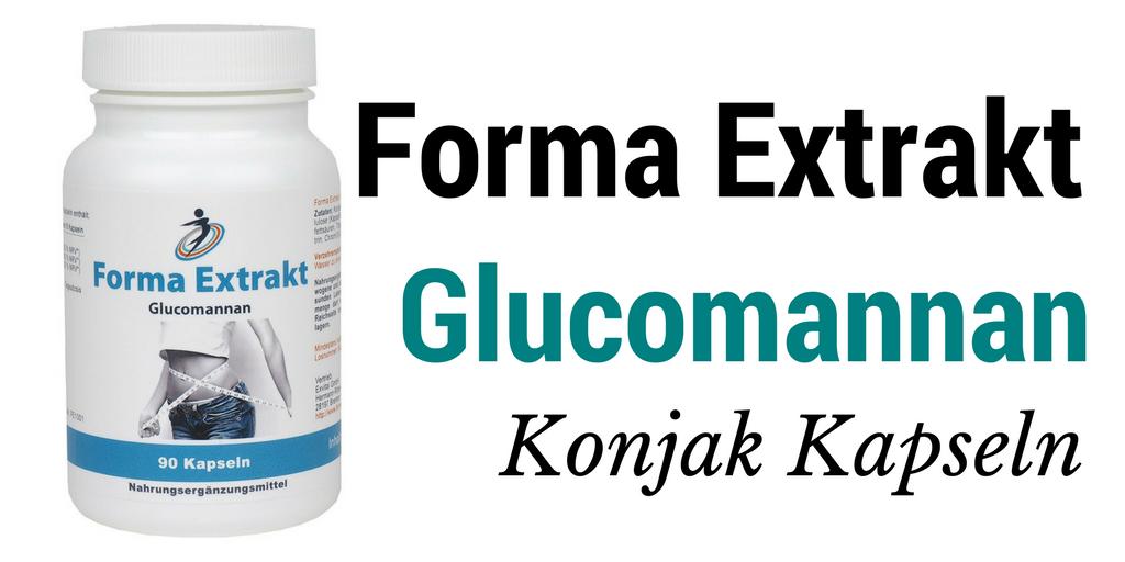 Forma Extrakt glucomannan konjak kapseln