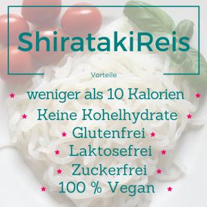 Vorteile Shirataki Reis