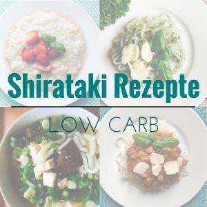 Shirataki Rezepte