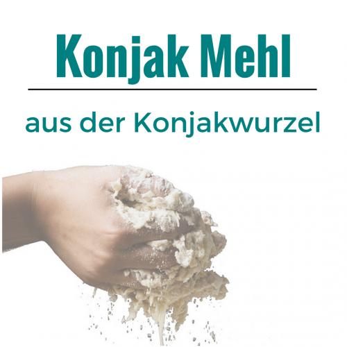 ▶ Konjak Mehl zum kochen und backen