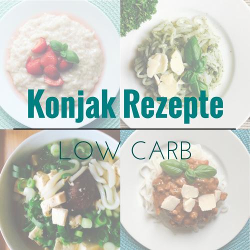 ▶ Rezepte mit Konjak Produkten