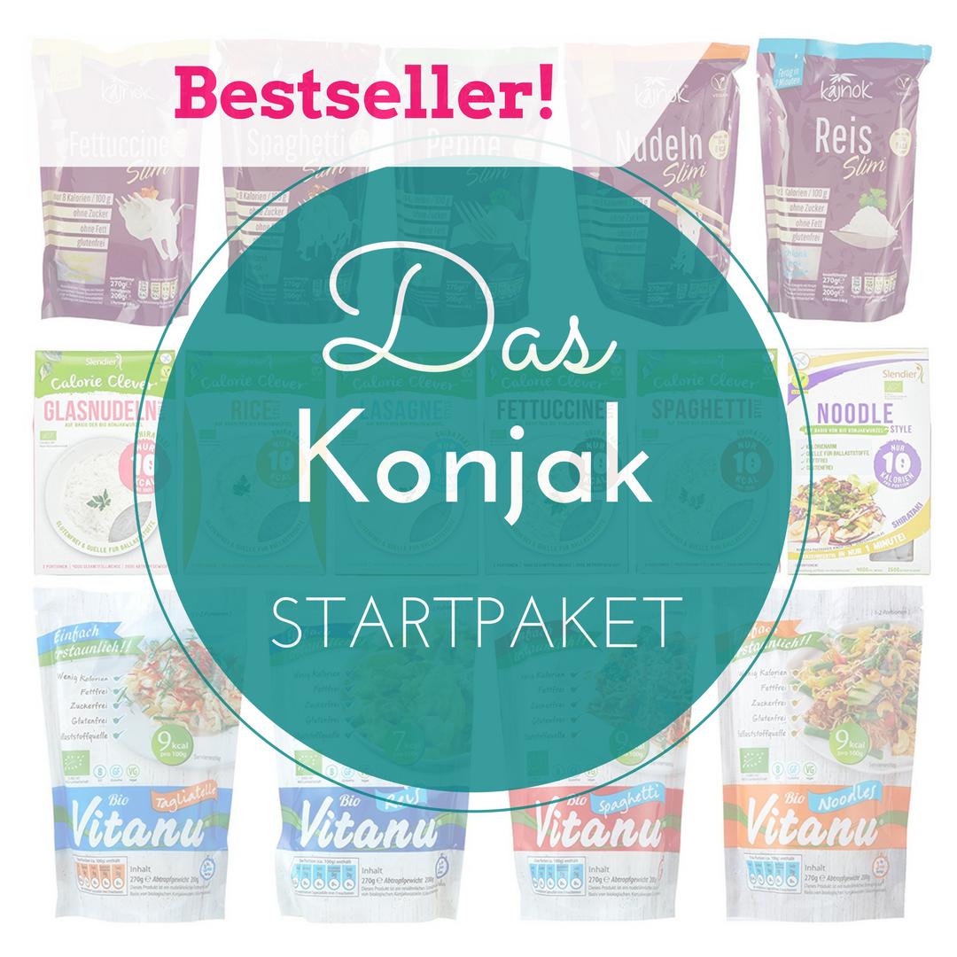 Konjak Produkte Startpaket