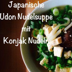 Rezept japanische udon