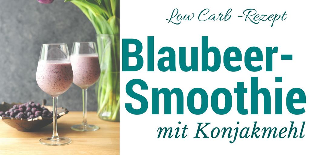 Blaubeer-Smoothie mit Konjak – Rezept