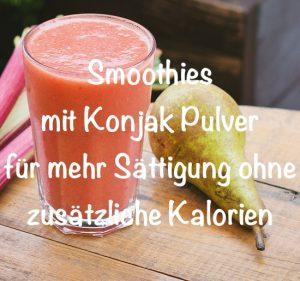 smoothies konjak pulver