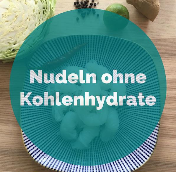nudeln ohne kohlenhydrate aus der konjakwurzel